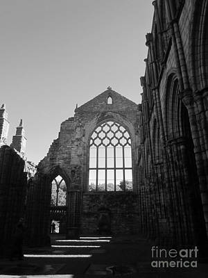 Photograph - Holyroodhouse by Sharron Cuthbertson