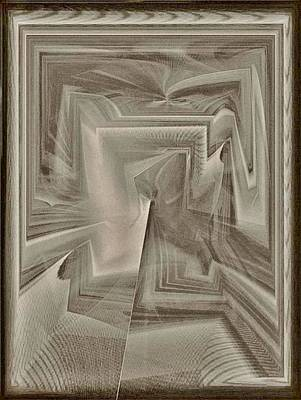 Kunst Mixed Media - Holz by Klaas Hartz