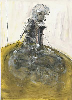 Crutch Painting - Homage by Luka Matijas
