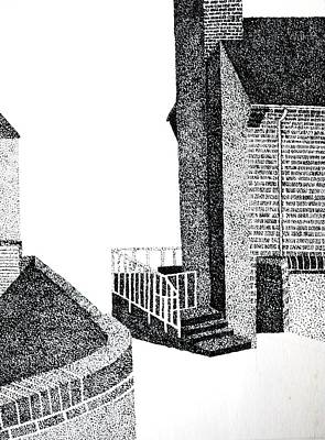 Drawing - Homage To Bricks by Dorothy Berry-Lound