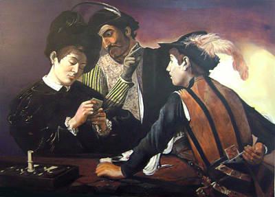 Homage To Caravaggio Original