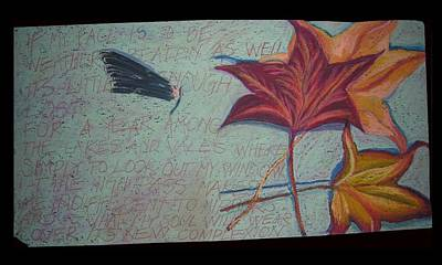 Wall Art - Pastel - Homage To M.o. by Kerrie B Wrye