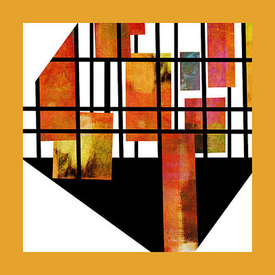 Digital Art - Homage To Mondrian Four by Ann Powell