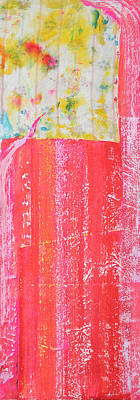 Homage To Old Paint Rags Print by Asha Carolyn Young