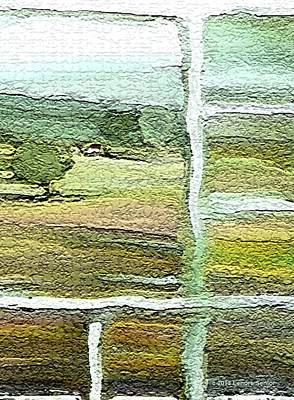 Impressionist Mixed Media - Home Alone As A  Patchwork Quilt by Lenore Senior