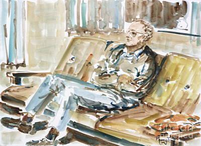 Phong Trinh Painting - Home Alone by Phong Trinh