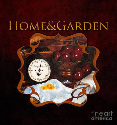 Home And Garden Gallery Art Print by Iris Richardson