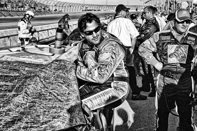 Tony Stewart Photograph - Home Depot Tony 20 by Kevin Cable