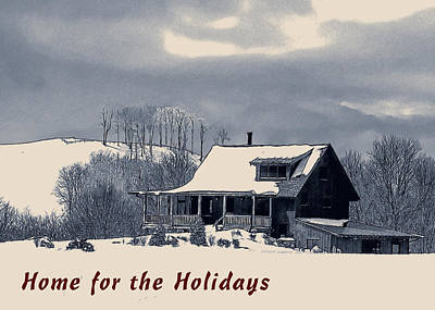 Digital Art - Home For The Holidays by John Haldane