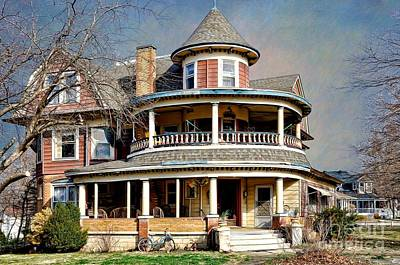 Photograph - Home - Grand Victorian Architecture by Liane Wright