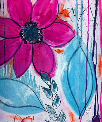 Home Grown Art Print by Ruth Palmer