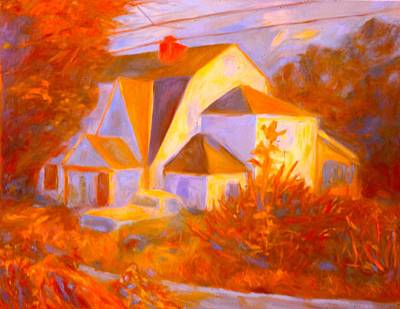 Painting - Home In Christiansburg Sketch by Kendall Kessler