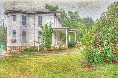Art Print featuring the photograph Home Is Where The Heart Is by Liane Wright