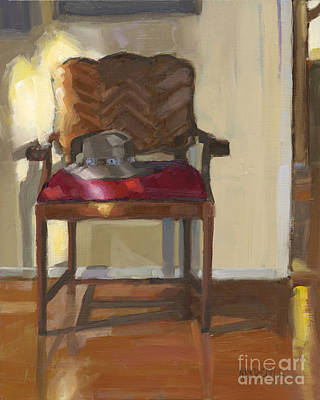 Painting - Sold Home Is Where Your Hat Lies by Nancy  Parsons