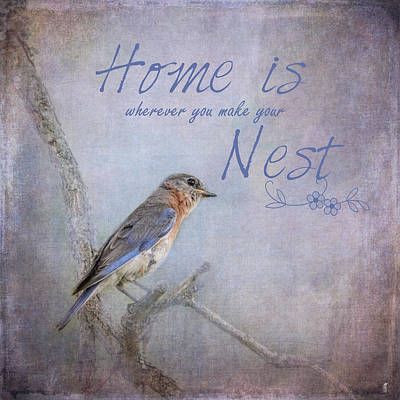 Photograph - Home Is Wherever You Make Your Nest by Jai Johnson