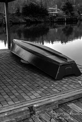 Boats Photograph - Home Made Boat by Steven Brodhecker