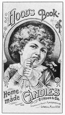 Cookbooks Drawing - Home-made Candy, 1888 by Granger