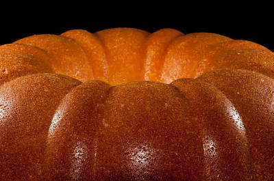 Photograph - Home Made Freshly Baked Lemon Pound Cake by Alex Grichenko