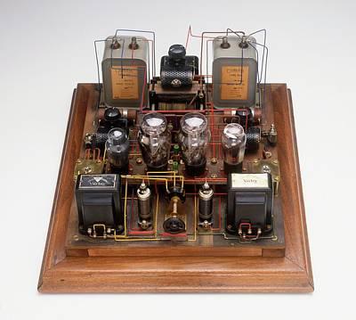 Home-made Radio Amplifier Art Print by Dorling Kindersley/uig