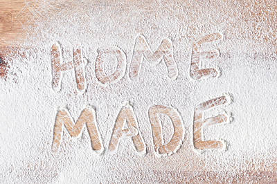 Flour Photograph - Home Made by Tom Gowanlock