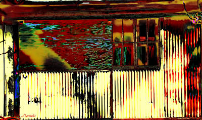 Photograph - Home No More- Abstract by Renee Anderson