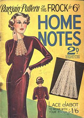 Home Notes 1940s Uk Women At War Womens Art Print by The Advertising Archives