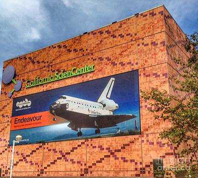 Photograph - Home Of Endeavour Shuttle by Susan Garren