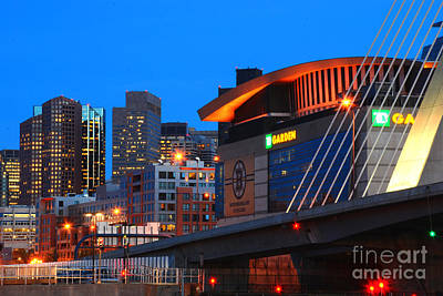 Home Of The Celtics And Bruins Art Print
