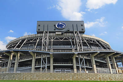 Psu Photograph - Home Of The Lions by Dawn Gari