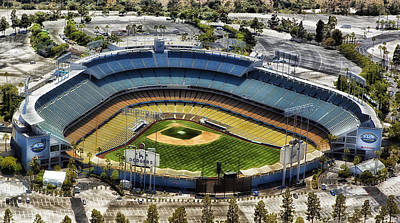 Home Of The Los Angeles Dodgers Art Print