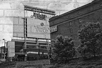 Photograph - Home Of The Minnesota Twins by Susan Stone