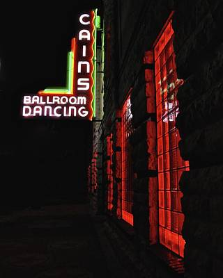 Cains Ballroom Photograph - Home Of The Texas Playboys by R E Dub