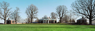 Sites Photograph - Home Of Thomas Jefferson, Monticello by Panoramic Images