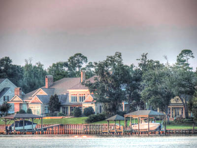 Photograph - Home On The Bay by Cathy Jourdan