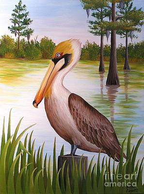 Painting - Home On The Bayou  by Valerie Carpenter