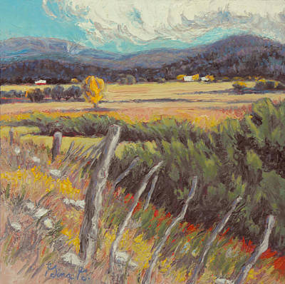 Wall Art - Painting - Home On The Range by Gina Grundemann