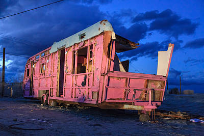 Photograph - Home Pink Home by Scott Campbell