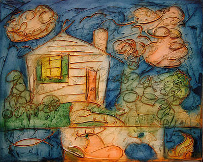 Oneness Painting - Home by Ross Drago