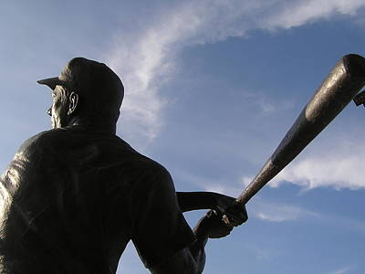 Mickey Mantle Baseball Cards Photograph - Home Run by Jewels Blake Hamrick