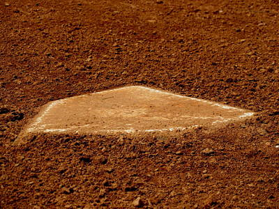 Homeplate Photograph - Home by Stephen Melcher