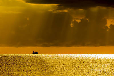 Fishing Boat Photograph - Home Stretch by Marvin Spates