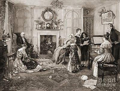 Home Sweet Home 1900 Art Print