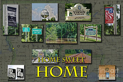 Home Sweet Home Art Print by D Wallace