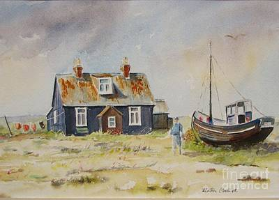 Painting - Home Sweet Home Dungeness by Beatrice Cloake