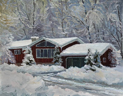 Painting - Home Sweet Home by Jeff Dickson