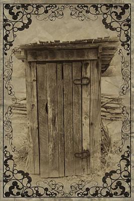 Split Rail Fence Digital Art - Home Sweet Home by John Haldane