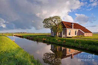 Spring Scenery Photograph - Home Sweet Home by Olha Rohulya