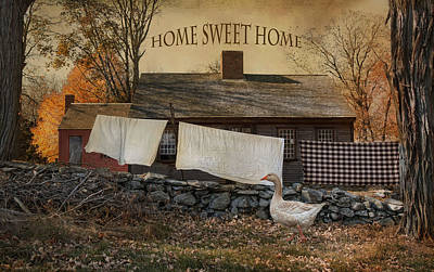 Photograph - Home Sweet Home by Robin-Lee Vieira