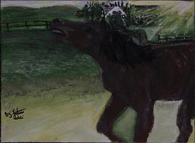 Home Sweet Horse Print by Katrina Ricci