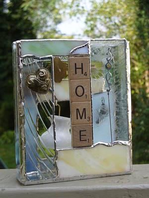 Glass Art - Home Windowsilll Box by Karin Thue